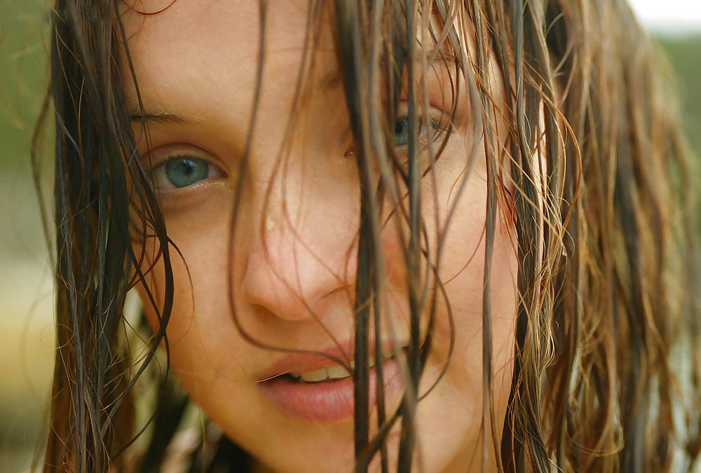 Fotografera skönheter mellan avkopplande läge i gratis