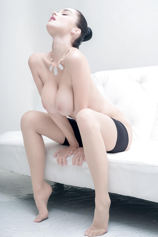 Sensuella damer är underbara bröst