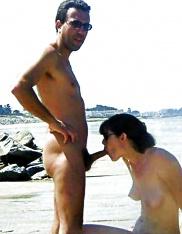 Kön bredvid stranden, Gratis bilder från oralsex